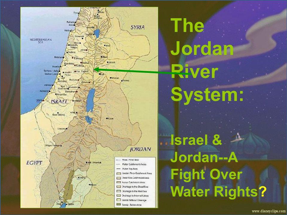 The Jordan River System:
