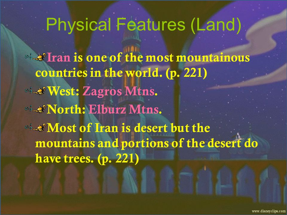 Physical Features (Land)