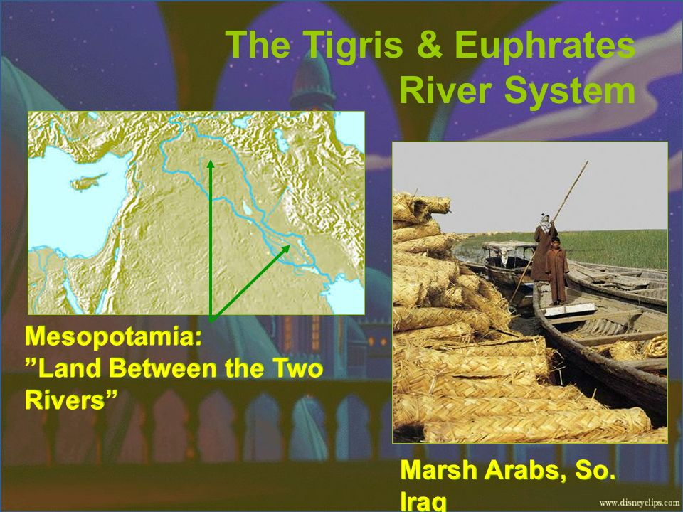 The Tigris & Euphrates River System