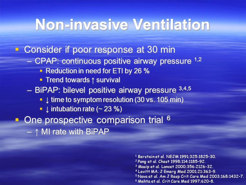 Non-invasive Ventilation
