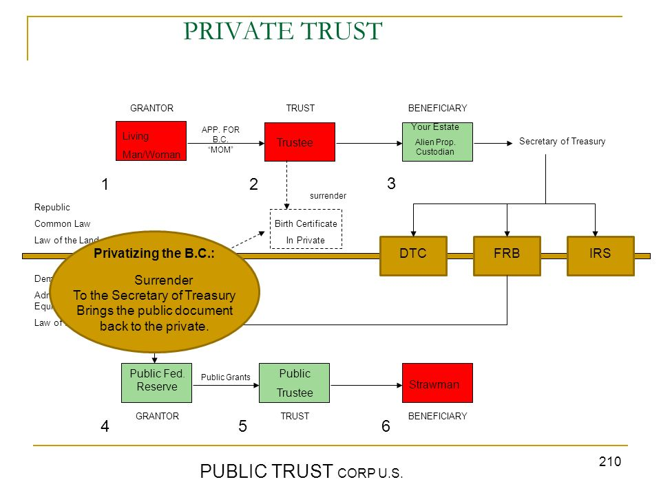 PRIVATE TRUST PUBLIC TRUST CORP U.S. 1 2 3 4 5 6 Privatizing the B.C.: