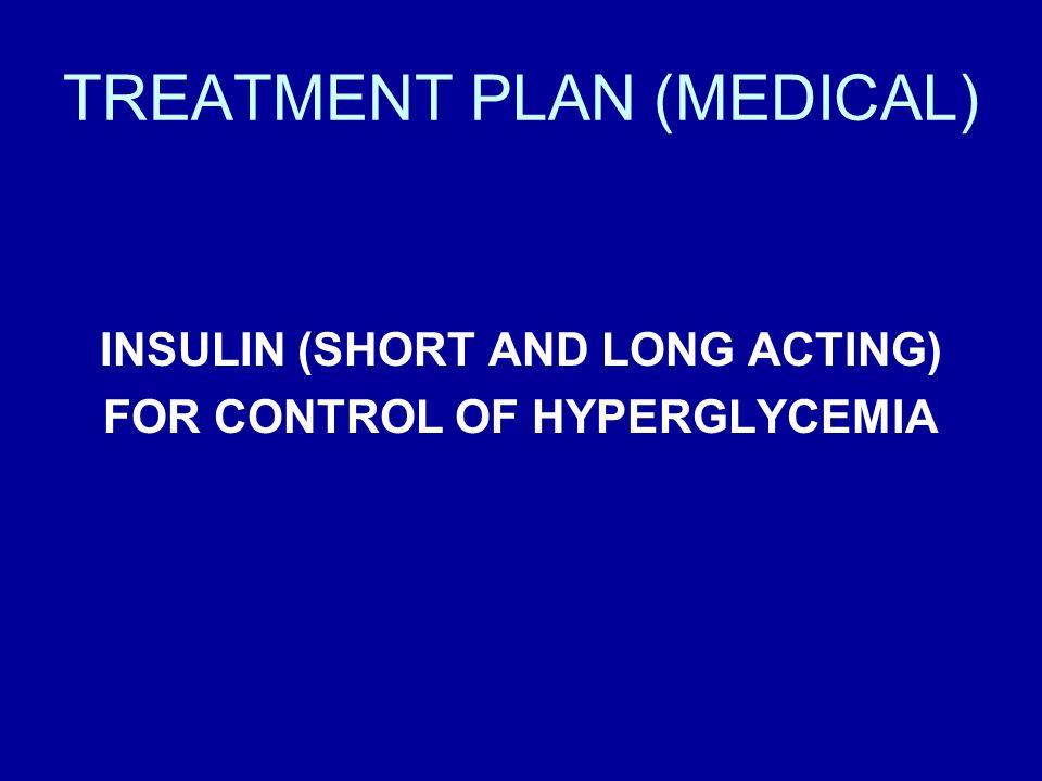 TREATMENT PLAN (MEDICAL)