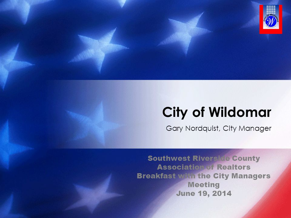 Gary Nordquist, City Manager