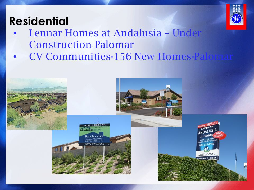 Residential Lennar Homes at Andalusia – Under Construction Palomar