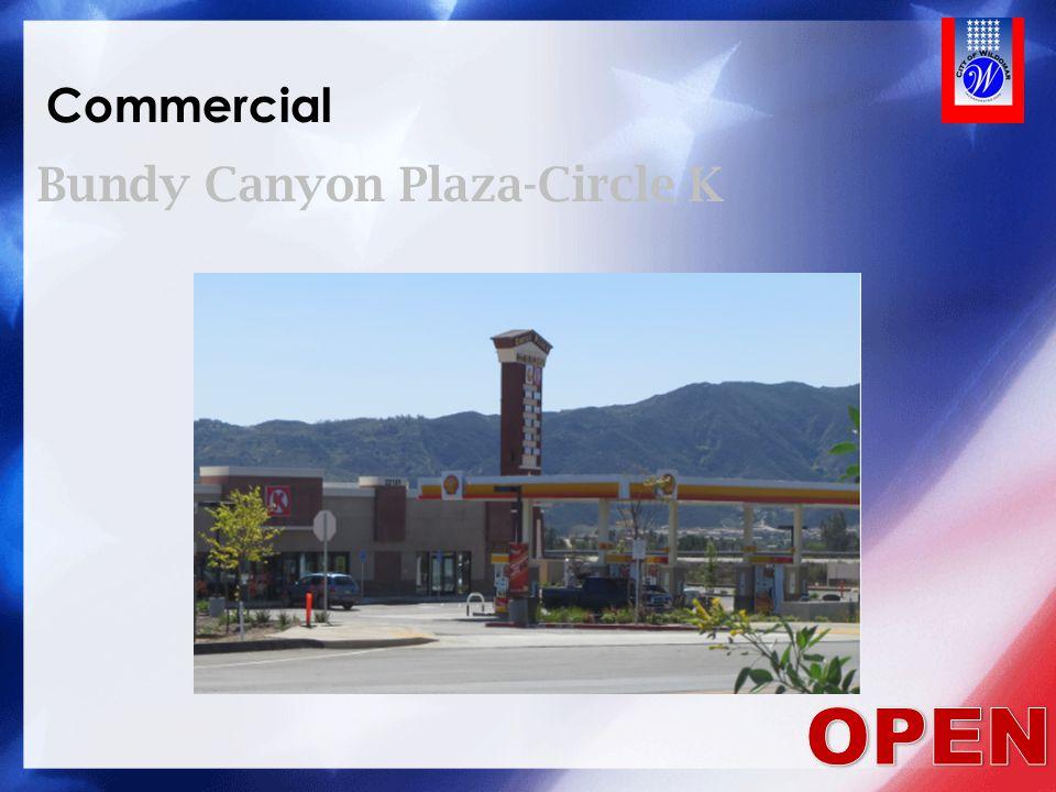 Commercial Bundy Canyon Plaza-Circle K OPEN