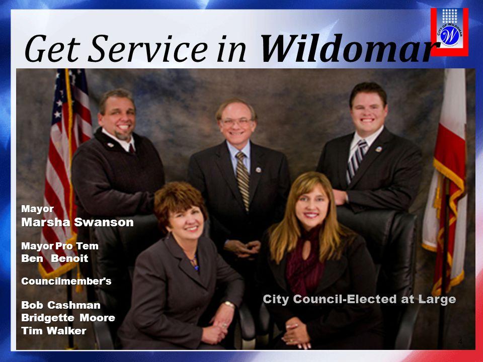 Get Service in Wildomar