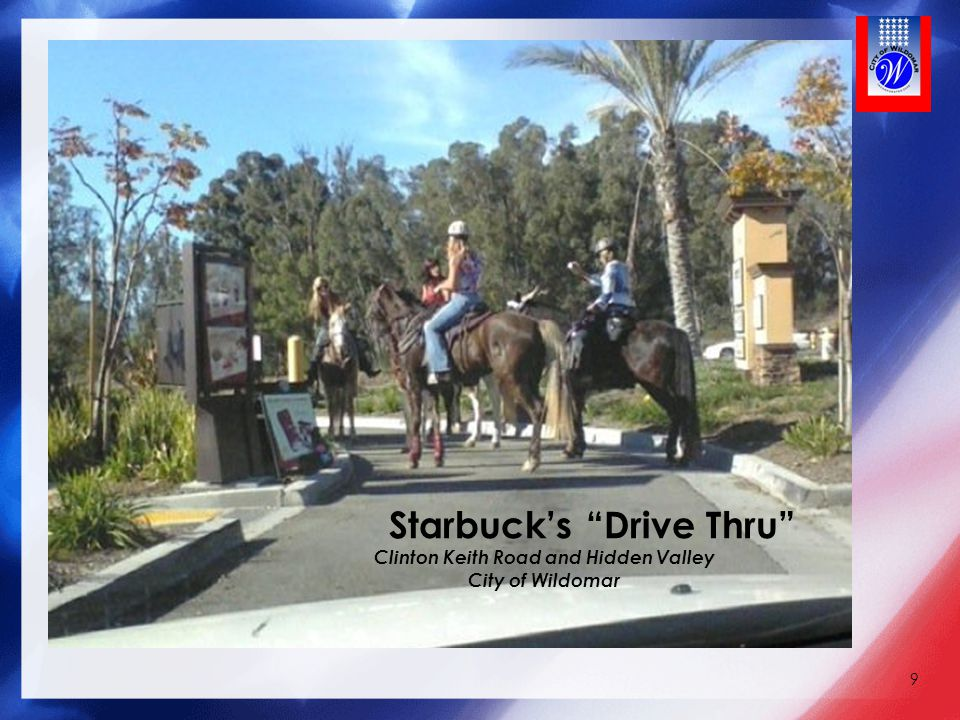 Starbuck's Drive Thru Clinton Keith Road and Hidden Valley City of Wildomar