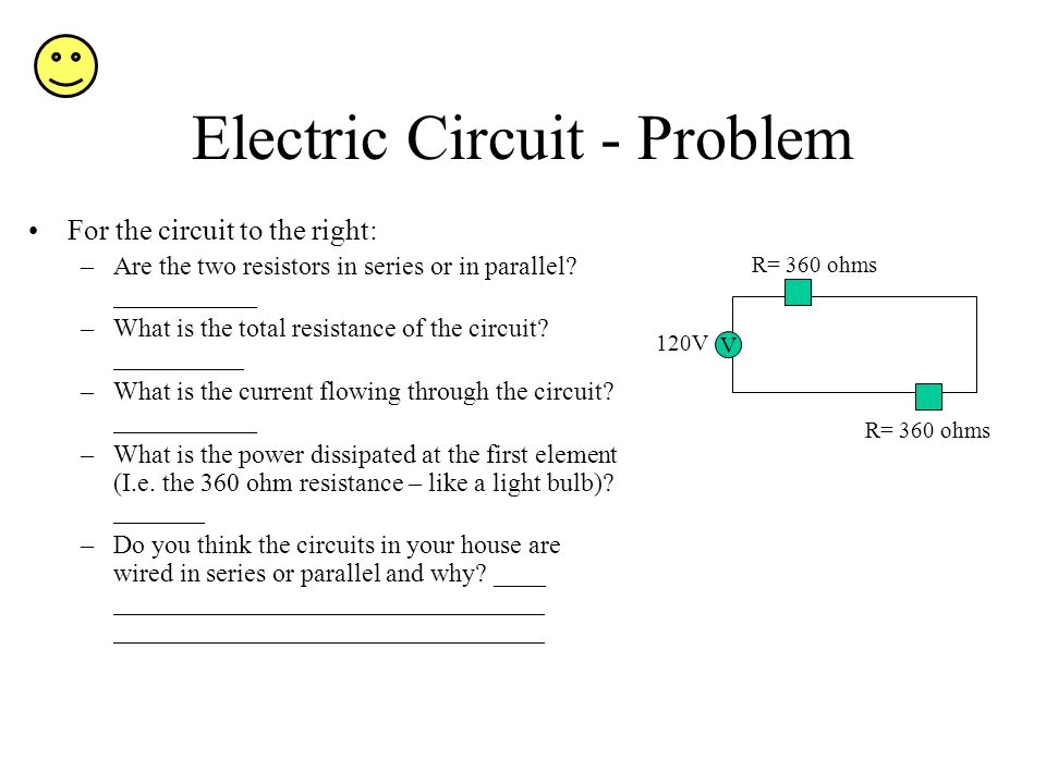Electric Circuit - Problem