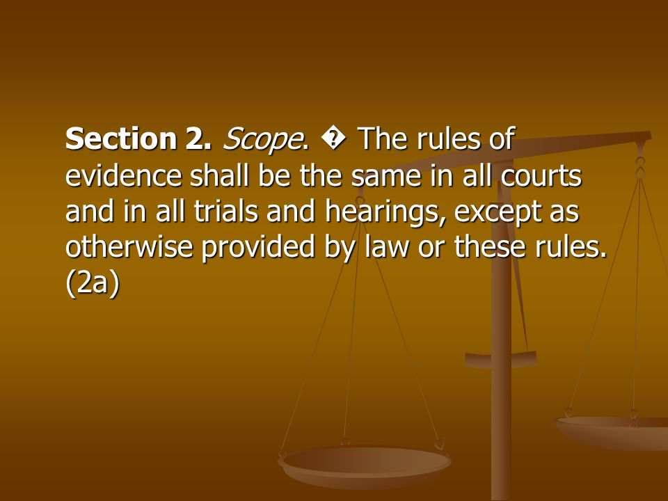 Section 2. Scope.