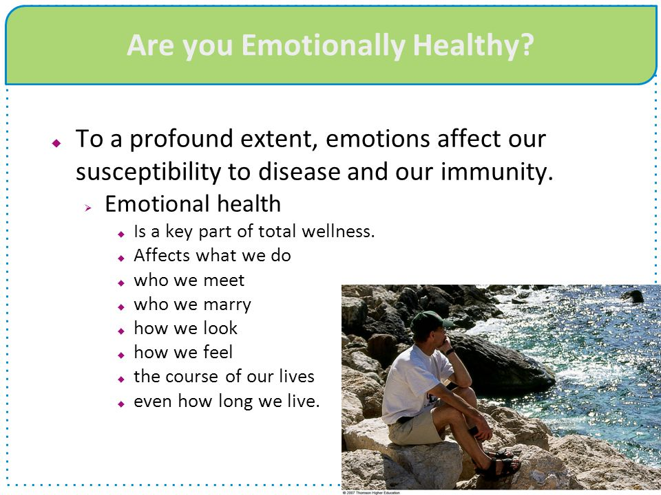 Are you Emotionally Healthy