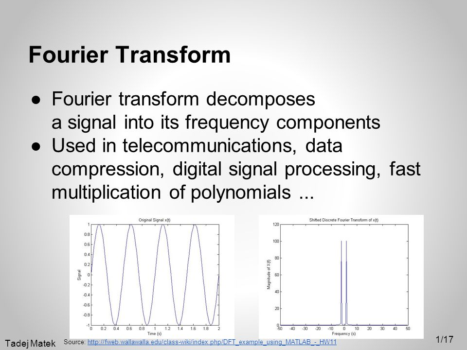 Fourier Transform and computers