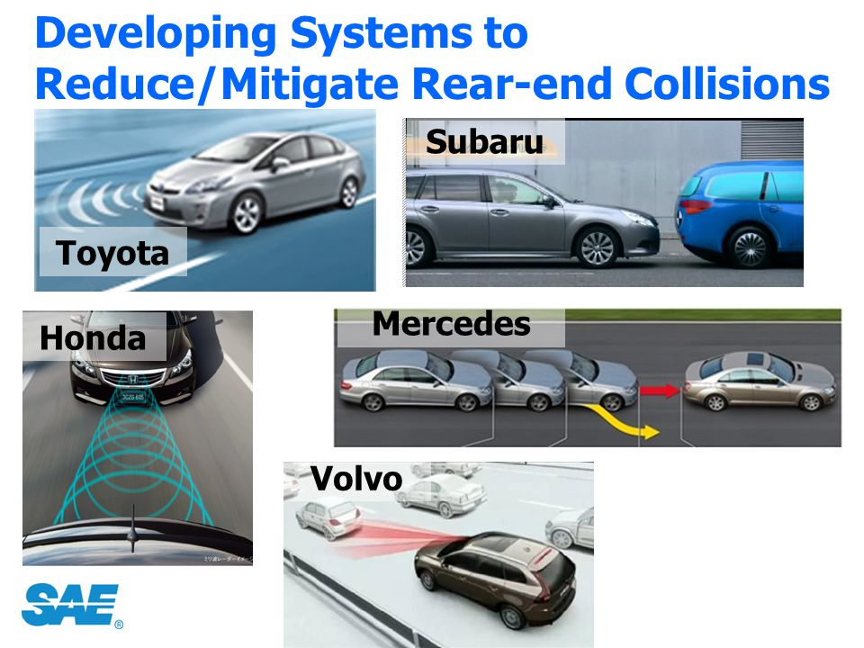 Developing Systems to Reduce/Mitigate Rear-end Collisions