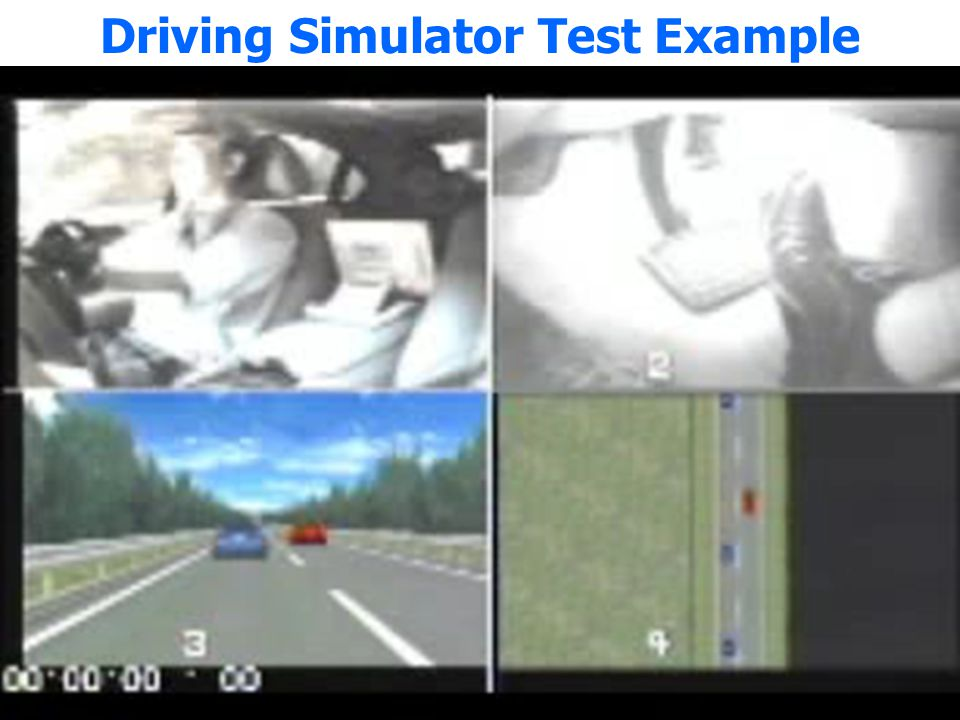Driving Simulator Test Example