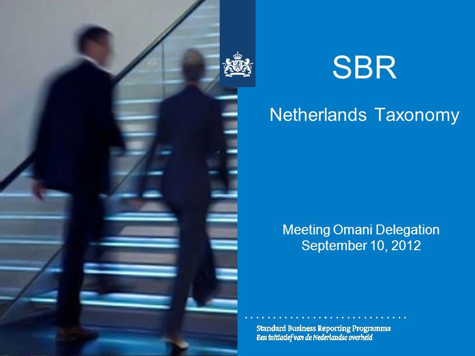 SBR Netherlands Taxonomy