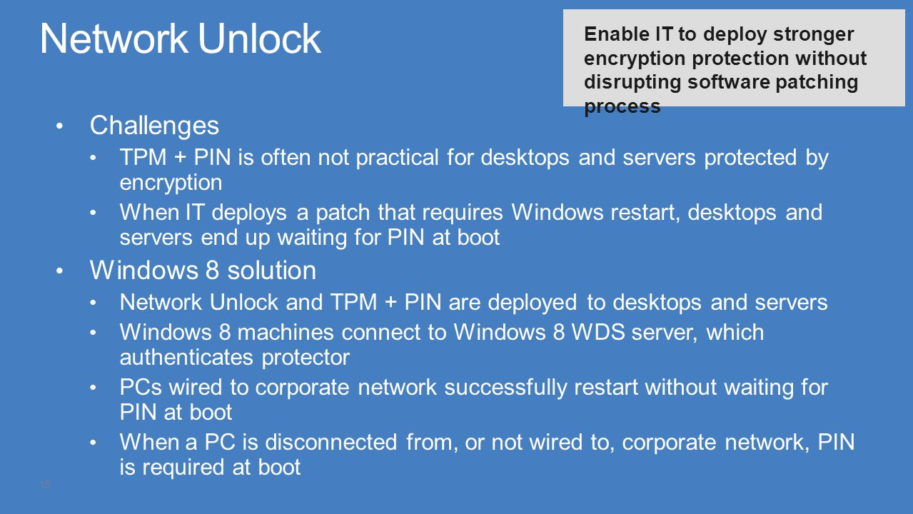 Network Unlock Challenges Windows 8 solution