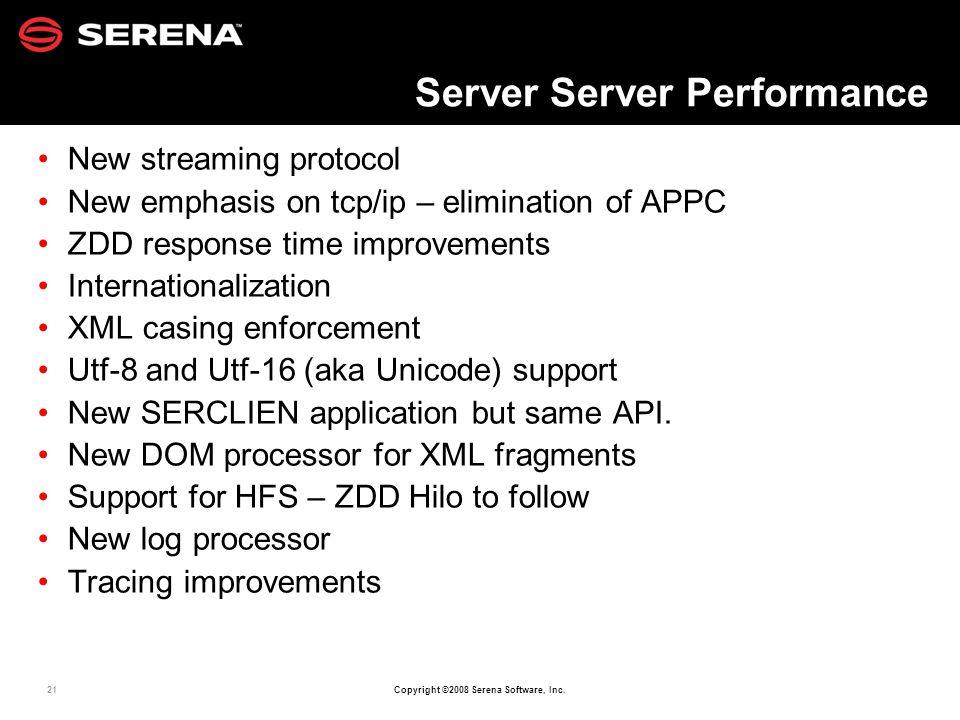 Server Server Performance