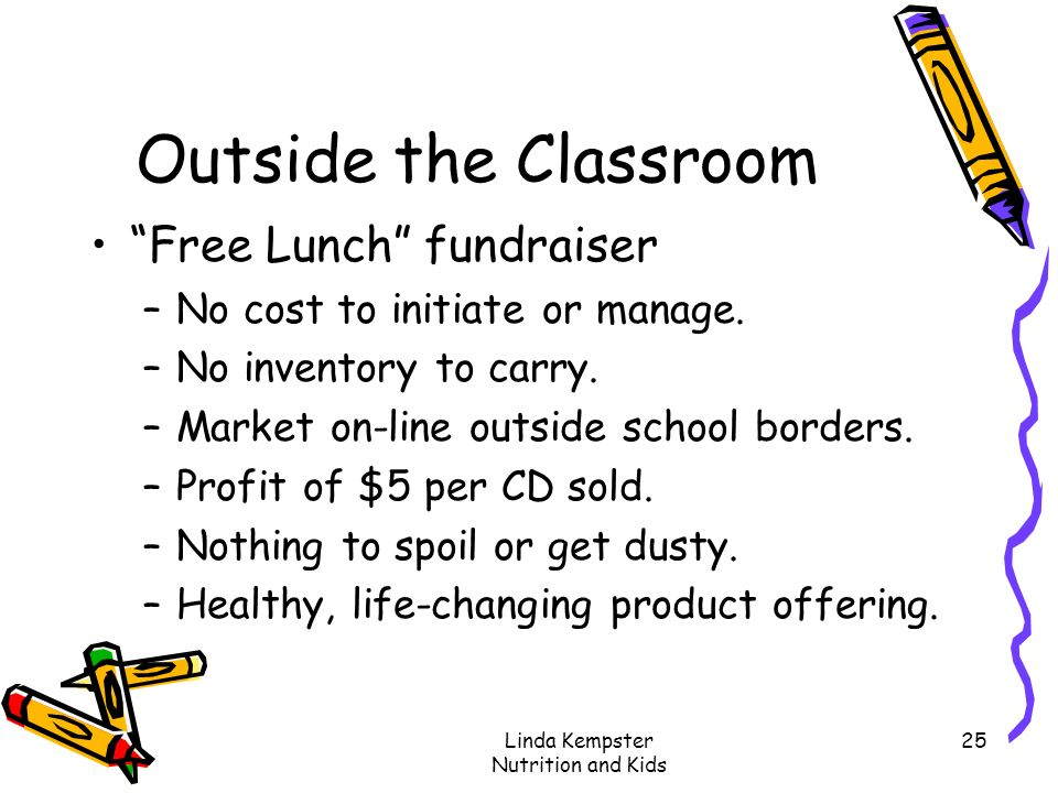 Linda Kempster Nutrition and Kids