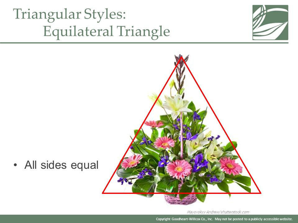Triangular Styles: Equilateral Triangle