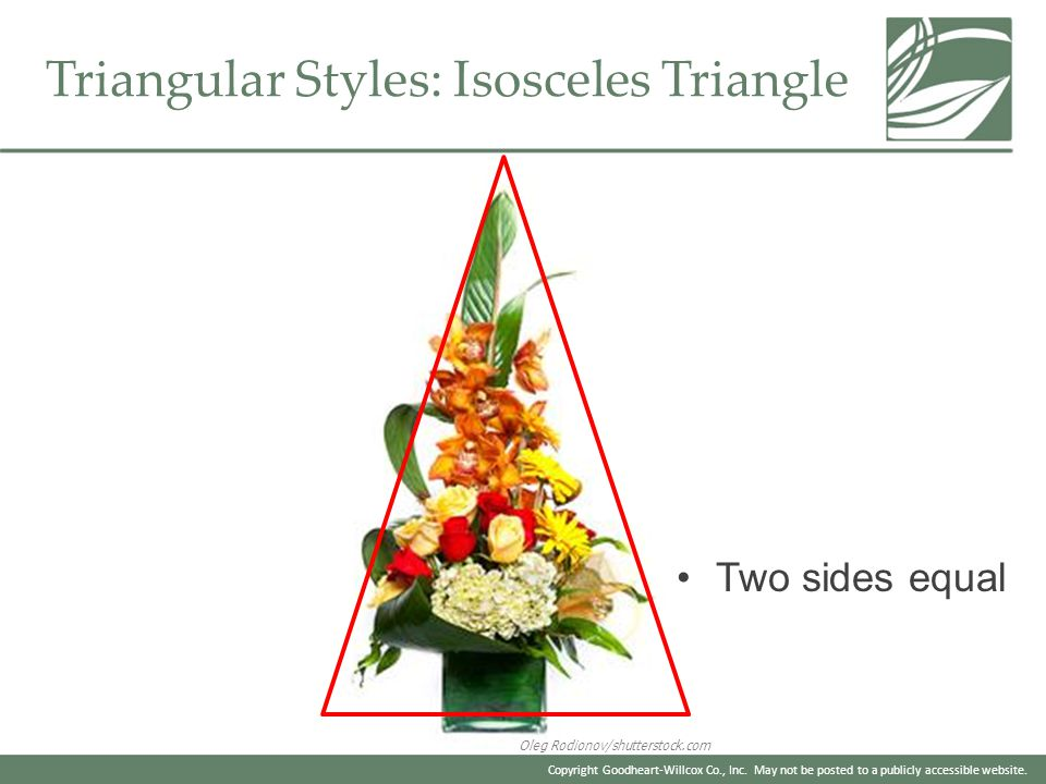 Triangular Styles: Isosceles Triangle