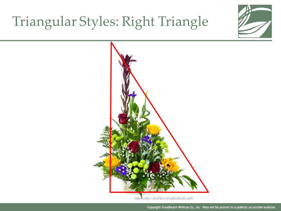 Triangular Styles: Right Triangle