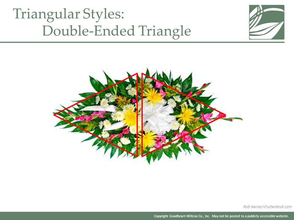 Triangular Styles: Double-Ended Triangle