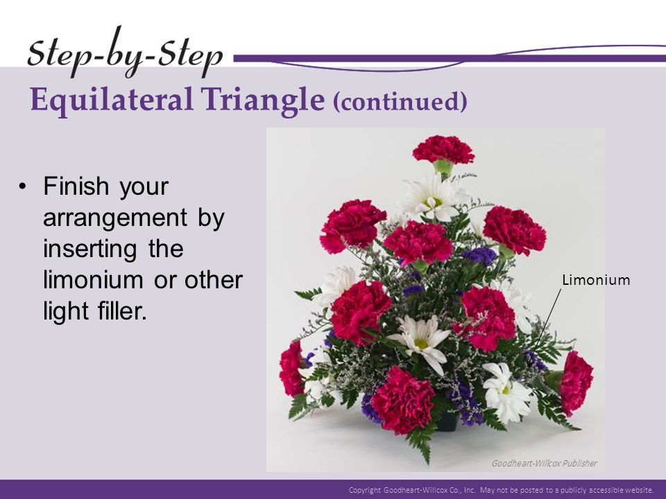 Equilateral Triangle (continued)