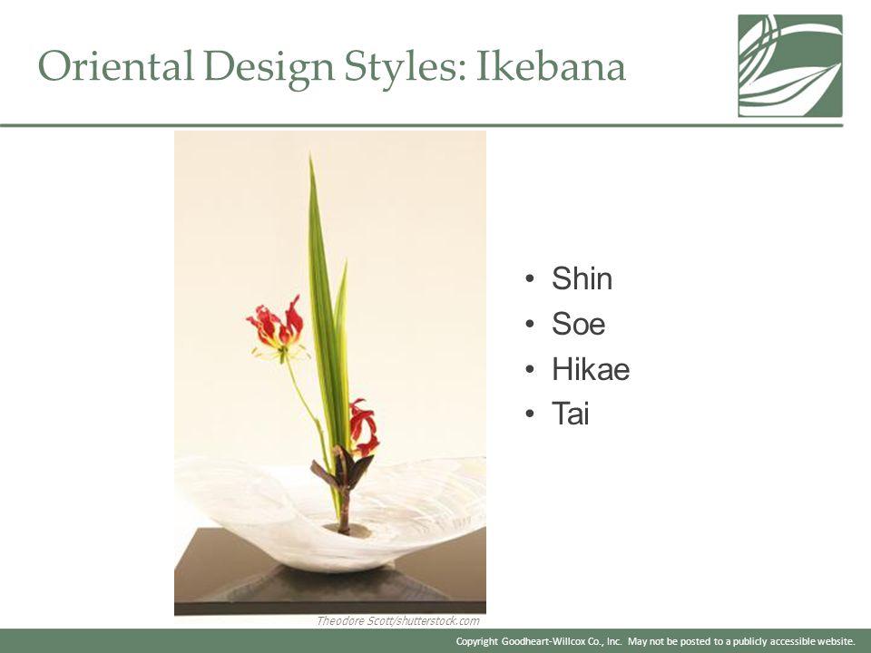 Oriental Design Styles: Ikebana