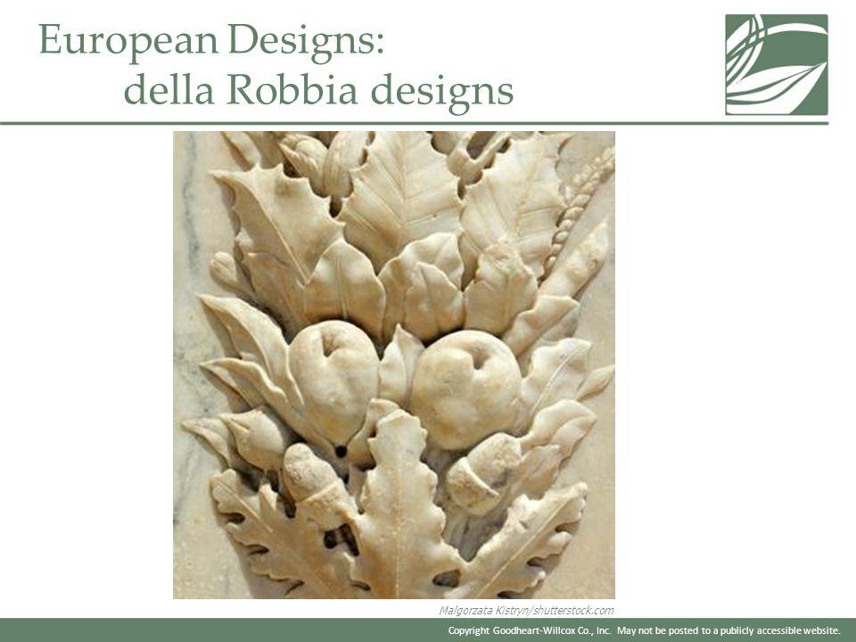 European Designs: della Robbia designs