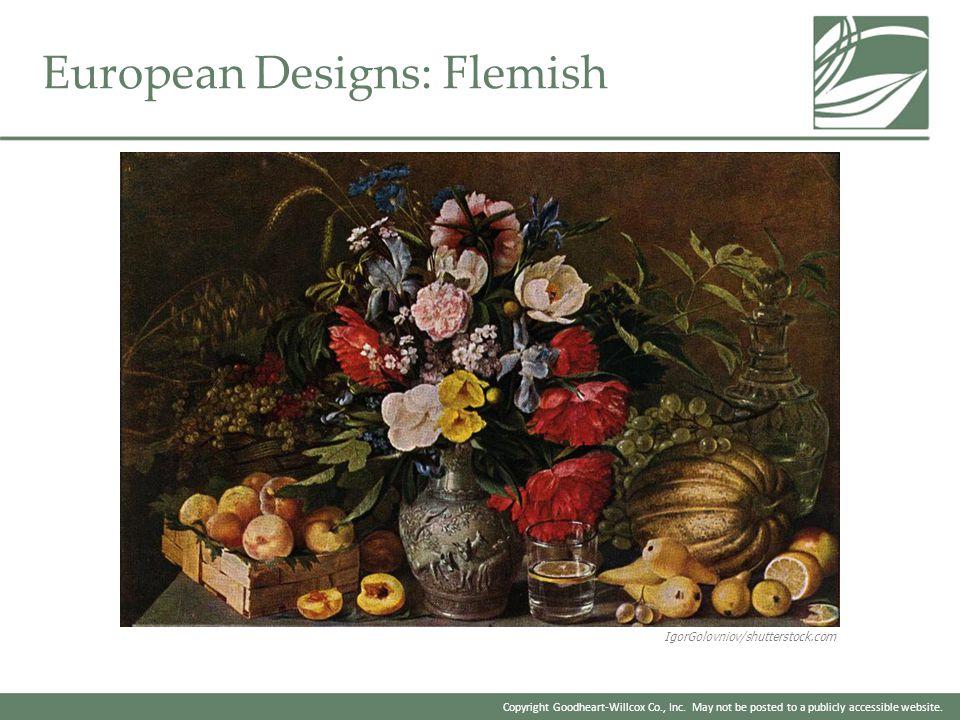 European Designs: Flemish