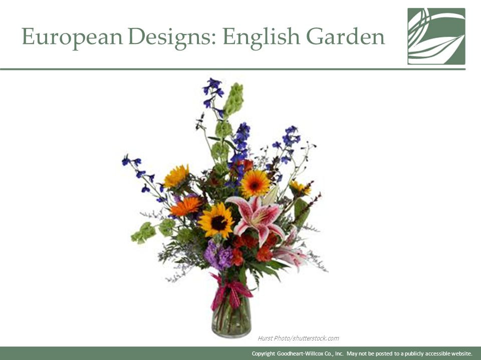 European Designs: English Garden