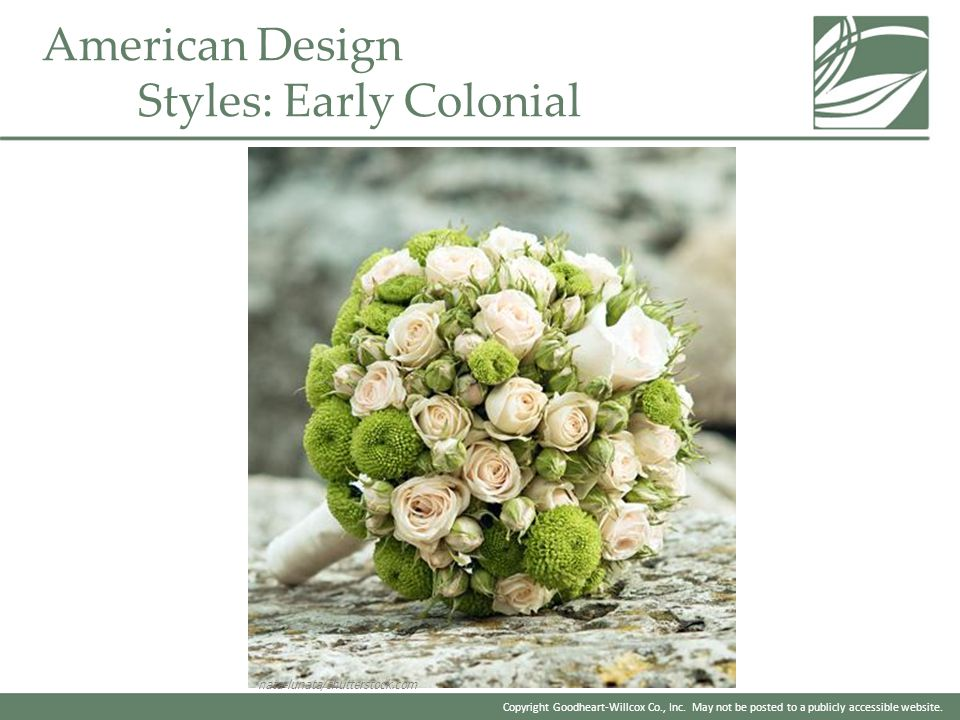 American Design Styles: Early Colonial