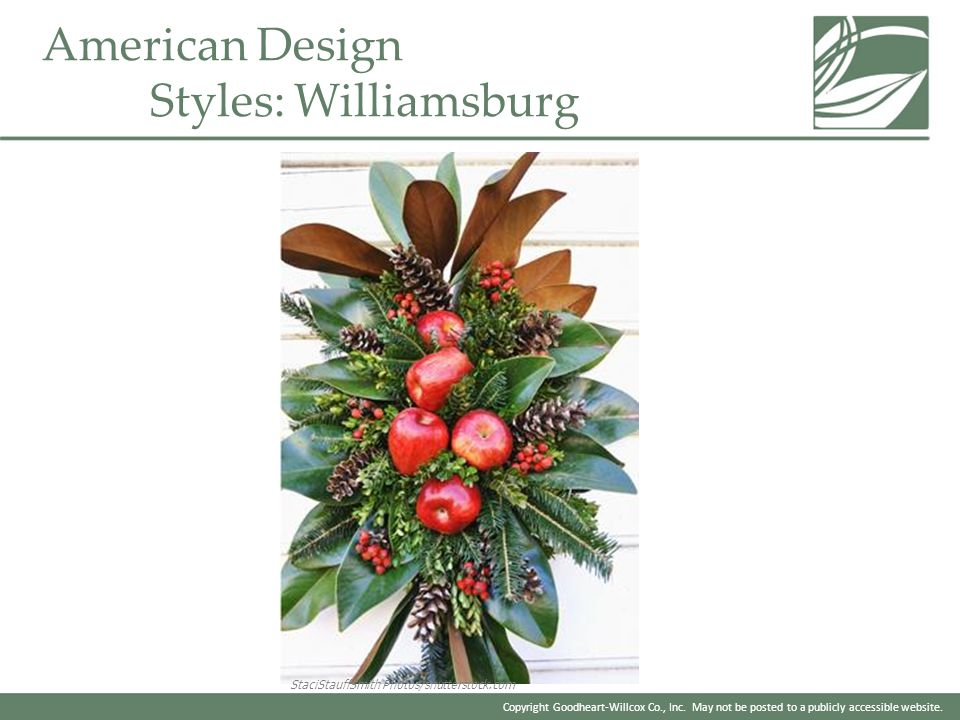 American Design Styles: Williamsburg