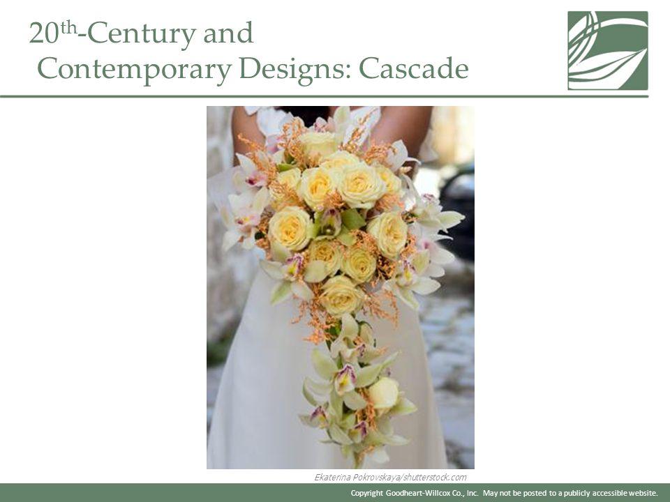 20th-Century and Contemporary Designs: Cascade