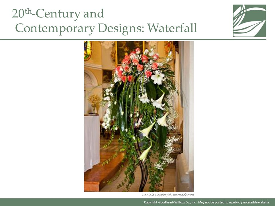 20th-Century and Contemporary Designs: Waterfall