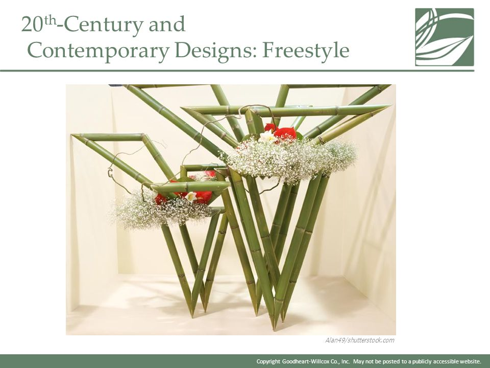 20th-Century and Contemporary Designs: Freestyle