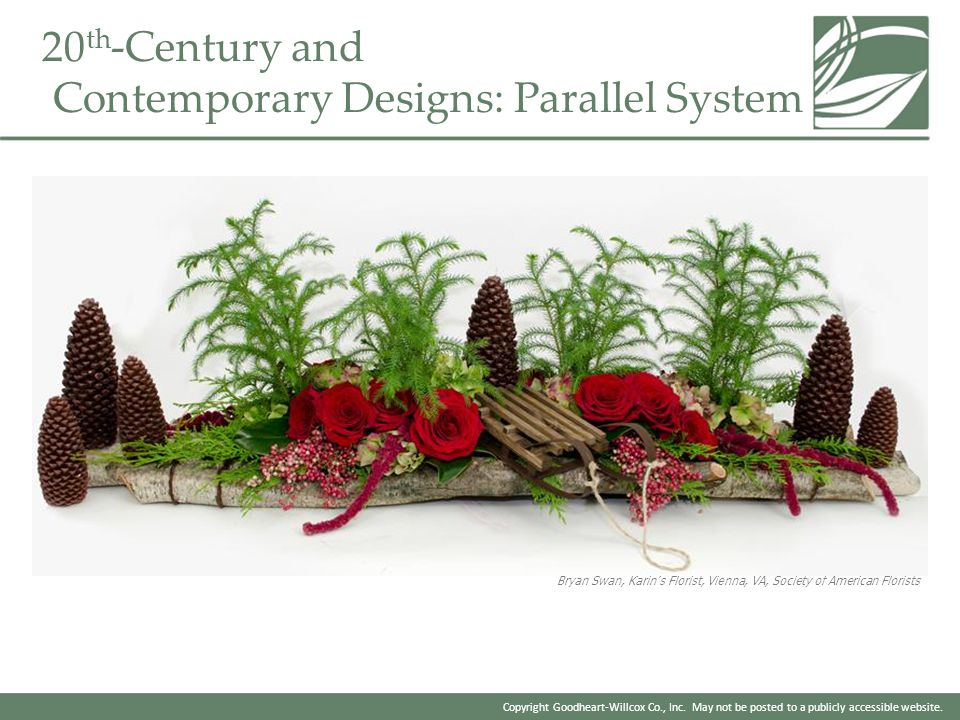20th-Century and Contemporary Designs: Parallel System