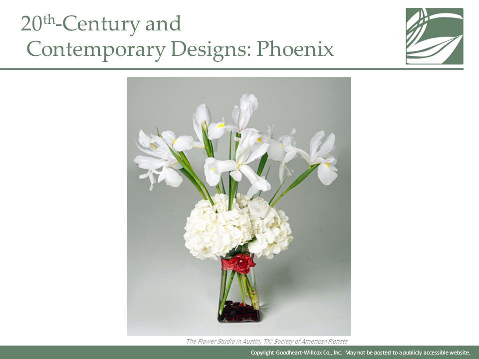 20th-Century and Contemporary Designs: Phoenix
