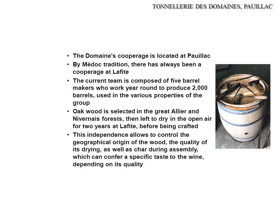 TONNELLERIE DES DOMAINES, PAUILLAC