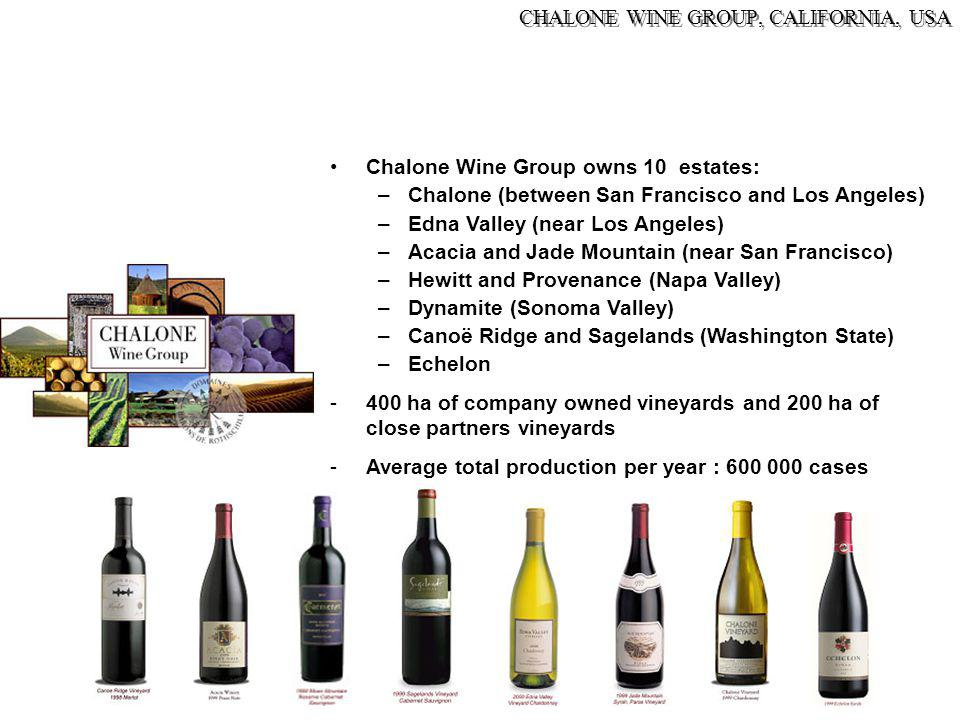 CHALONE WINE GROUP, CALIFORNIA, USA