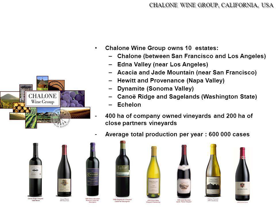 CHALONE WINE GROUP, CALIFORNIA, USA