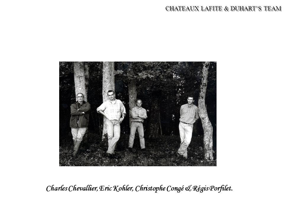 Charles Chevallier, Eric Kohler, Christophe Congé & Régis Porfilet.