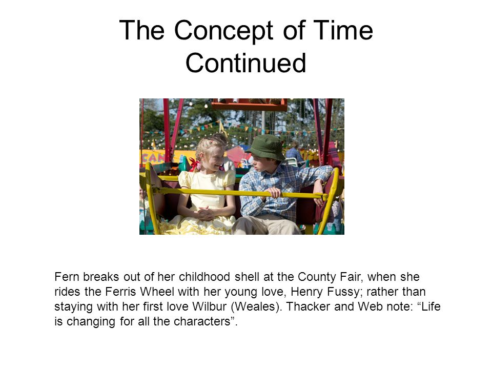 The Concept of Time Continued