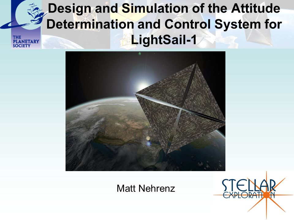 Design and Simulation of the Attitude Determination and Control System for LightSail-1