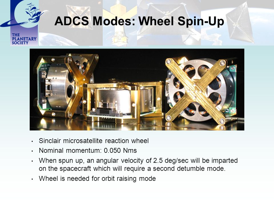 ADCS Modes: Wheel Spin-Up