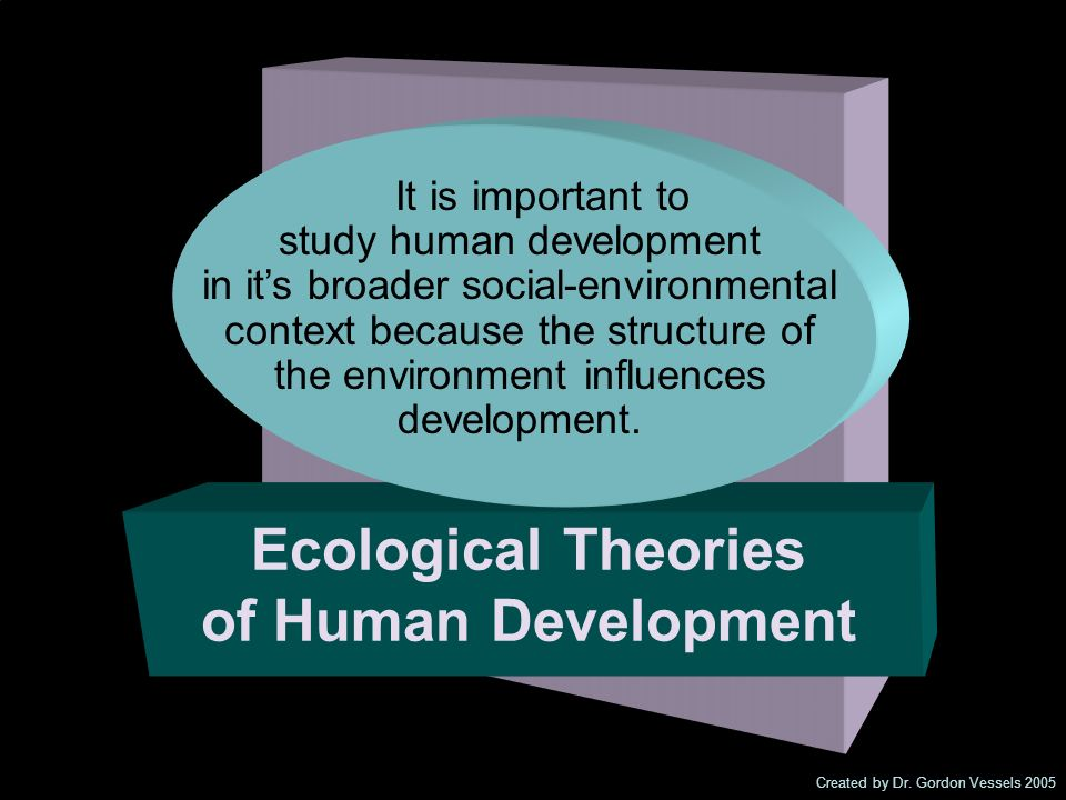 Ecological Theories of Human Development