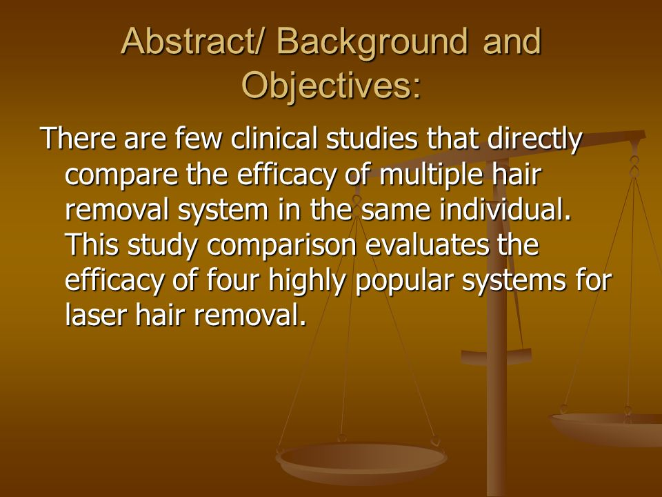 Abstract/ Background and Objectives: