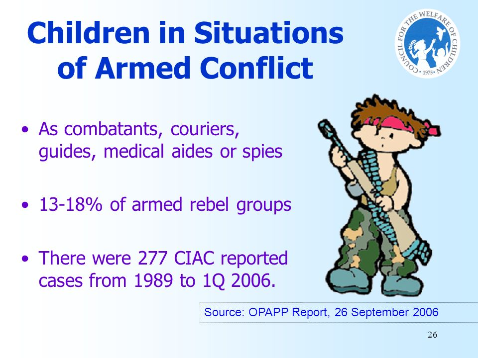 Children in Situations of Armed Conflict
