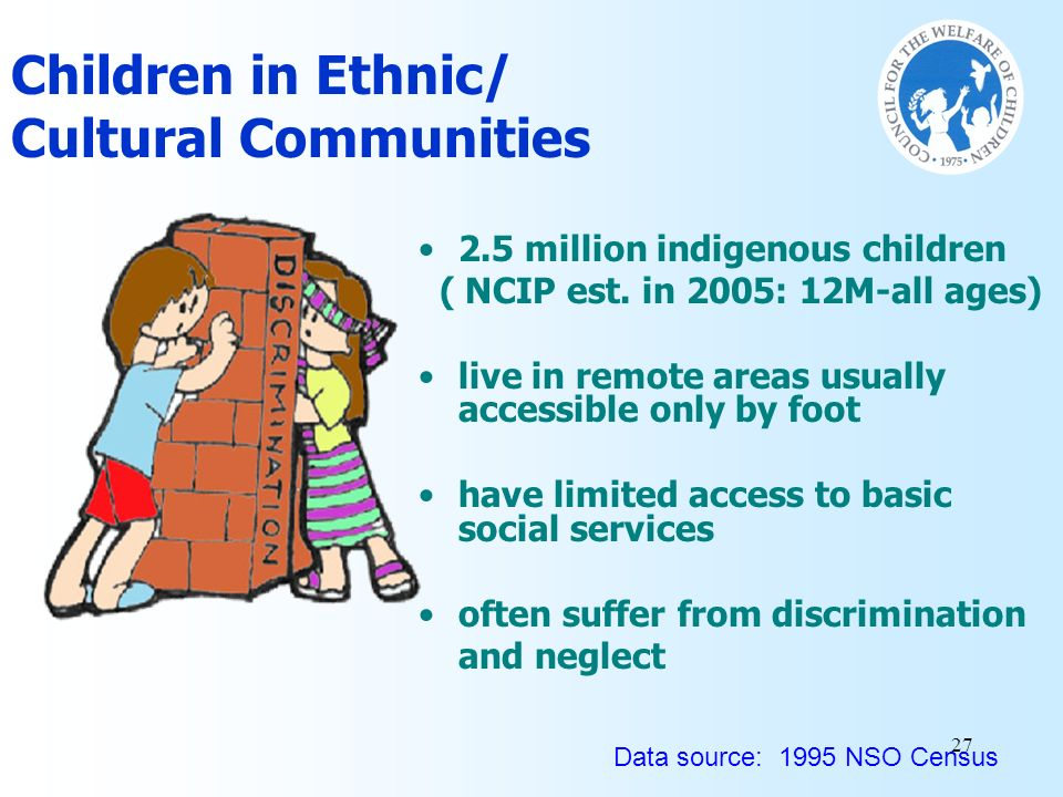 Children in Ethnic/ Cultural Communities