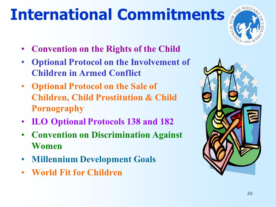 International Commitments