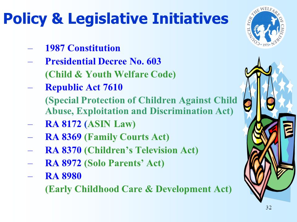 Policy & Legislative Initiatives